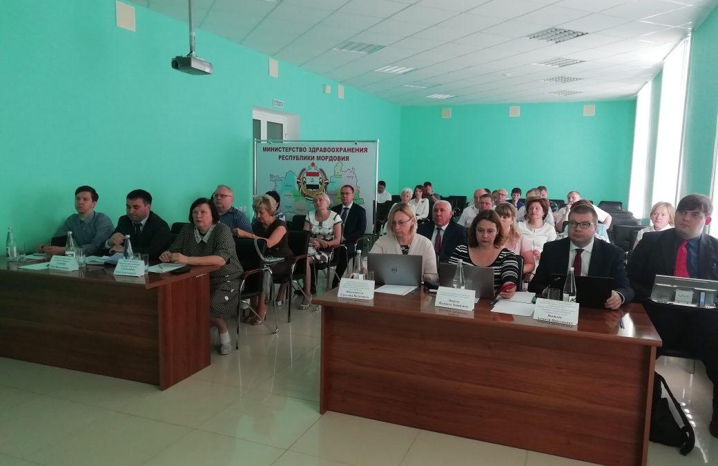 16.07.2019 г. состоялось прибытие делегации НМИЦ им. В.А. Алмазова в г. Саранск