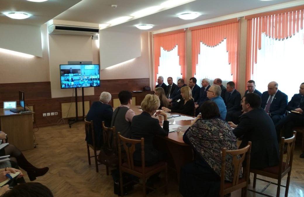 3 марта 2020 года Министерство Здравоохранения Республики Мордовия приняло участие в видеоселекторном совещании