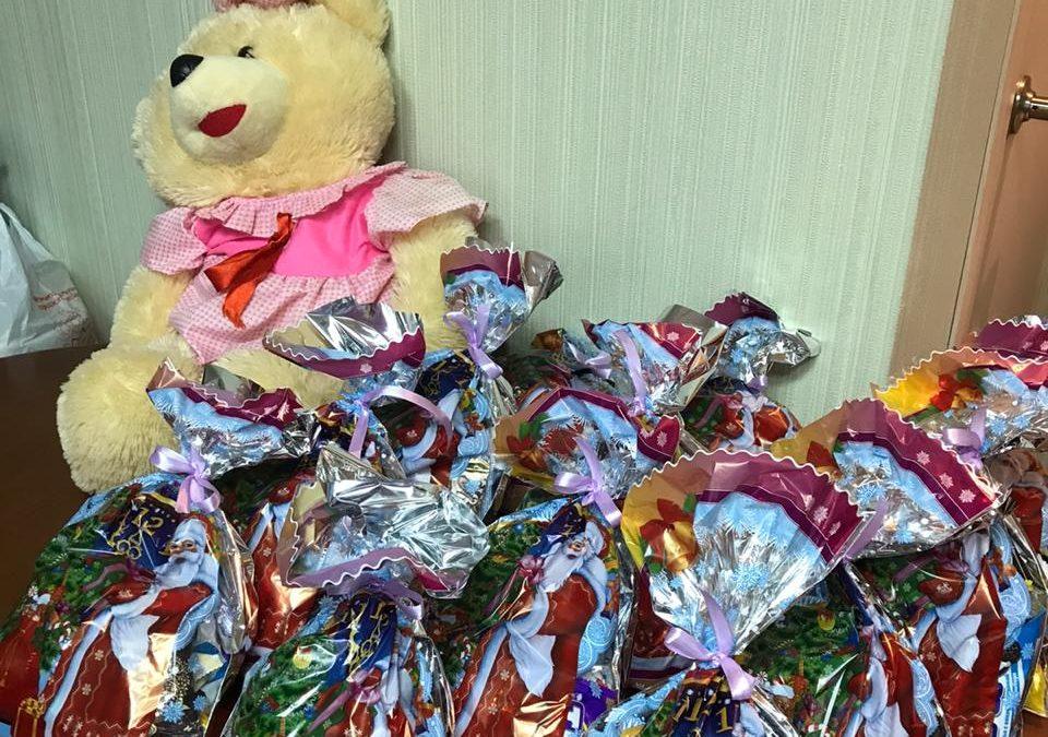 В ГБУЗ Республики Мордовия «Родильный дом» прошла новогодняя благотворительная акция для семей с детьми