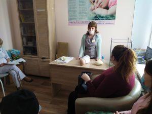 Лекция в ГБУЗ Республики Мордовия «Рузаевская ЦРБ» о подготовке беременных к родам и уходу за новорожденными