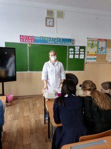Лекции специалистов ГБУЗ Республики Мордовия «Рузаевская ЦРБ» «О вреде аборта», «Профилактика ИППП»